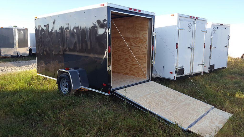 Single Axle Trailer Specs : Wide diamond cargo single axle trailer plain ol trailers