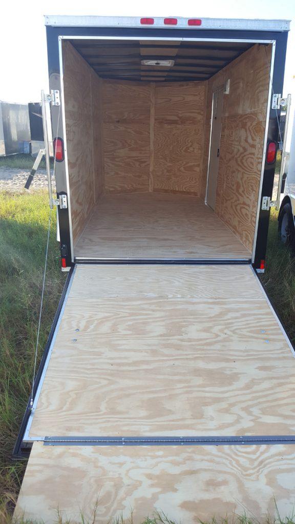 6 39 wide diamond cargo tandem axle trailer plain ol 39 trailers for Tandem flooring