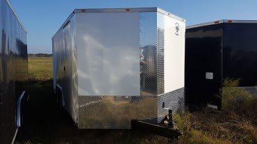 8.5' x 20' V Nose Tandem Axle Diamond Cargo Trailer